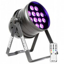 BeamZ BPP200 LED Par 64 12x 18W 6-in-1 LEDs