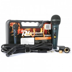 Power Dynamics Pdm661 Microfono Dinamico En Caja Transporte
