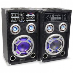 "Fenton KA-06 Set de Altavoces Activos 6.5"" USB/RGB LED 400W"