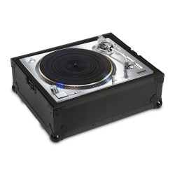 Udg Ultimate Flight Case Multi Format Turntable Black