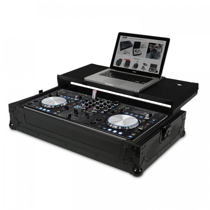 Ultimate Flight Case Pioneer XDJ-R1 Black Plus (Laptop Shelf)