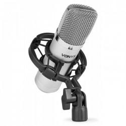 Vonyx CM400 Microfono de estudio de condensador plata