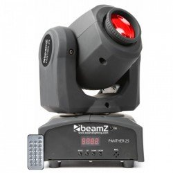 Beamz Panther 25 Cabeza Movil Led Spot