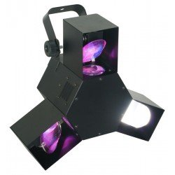 BeamZ Triple Flex led Centro Pro DMX