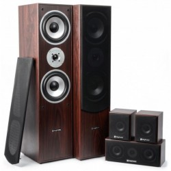 Fenton Sistema Home Theatre 5.0 - Nogal