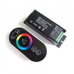 Led Controller RF Touch series negro