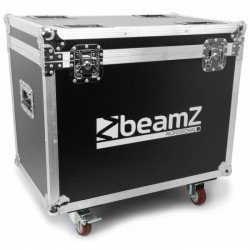 BeamZ Professional Flightcase para 2pcs Panther 7R DOWN