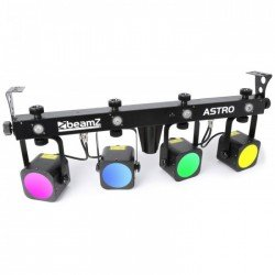 BeamZ Astro Barra 4 Par Led Cob