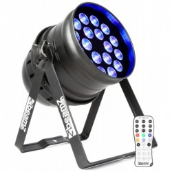 BeamZ Professional BPP205 LED Par 64 18x 15W 5-in-1 LEDs