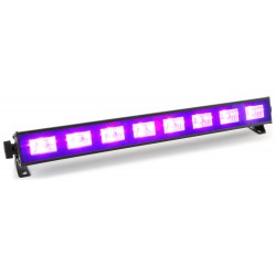 BeamZ BUV93 Barra de LED 8x3W UV