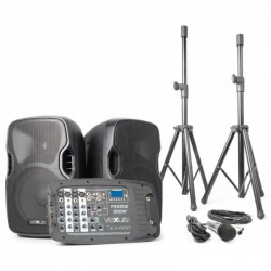 "Vonyx PSS302 Set Portatil 10"" SD/USB/MP3/BT con Tripode"
