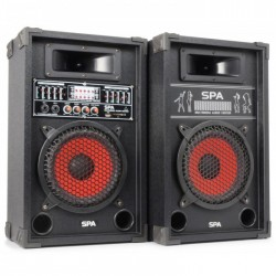 "Fenton SPA800 Sistema Altavoces Activo 8"" SD/USB/MP3"