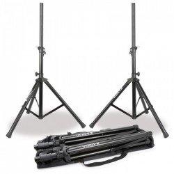 Vonyx Set de soportes de altavoz con bolsa de transporte