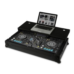 Udg Ultimate Flight Case Pioneer XDJ-RX Black Plus (Laptop shelf + Wh