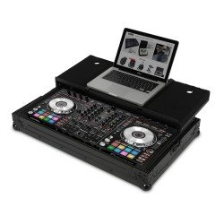 ultimate flight case pioneer ddj rx sx sx2 black plus laptop