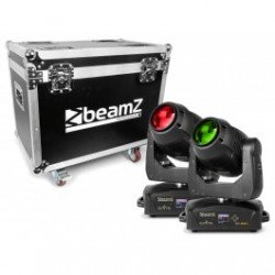BeamZ IGNITE150B Cabeza Movil LED Beam 2pcs en Flightcase