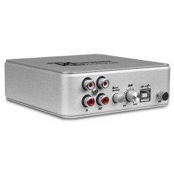 Power Dynamics PDX015 USB Pre amplificador de Phono con Software