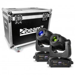 BeamZ Professional IGNITE180 Cabeza Movil Spot LED 2pcs en Flightcase
