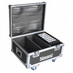 BeamZ Professional Flightcase FL2 para 2pcs Star-Color 240 o 360 Proyectores Wash