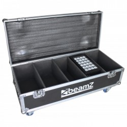 BeamZ Professional Flightcase FL4 para 4pcs Star-Color 240 o 360 Proyectores Wash