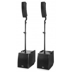 "Power Dynamics PD1212 Sistema portatil Array 2x12"" 800W Bluetooth"