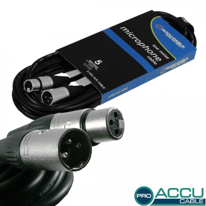 Accu-Cable XLR 5metros