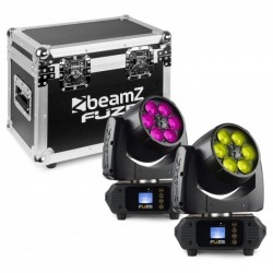 Beamz Fuze610Z Set 2 Flightcase