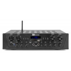 Power Dynamics PV240BT Amplificador de audio de 4 canales 400W