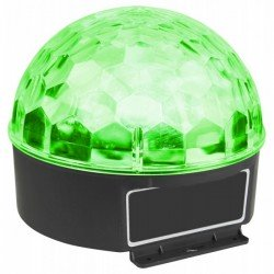 Max Magic Jelly DJ Ball Activada por sonido 6x 1W LED