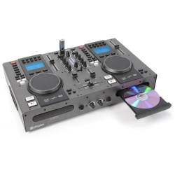 SkyTec STX-95 Doble Reproductor Top CD/USB/MP3 y Mezclador