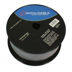 Bobina de cable AC para micro negro 100m