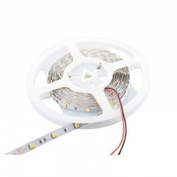 Tira de led 5050/ 30 led blanco calido ip65