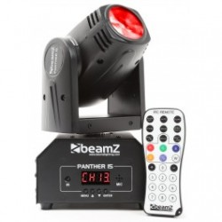 BeamZ Panther 15 Cabeza Movil Mini LED Beam