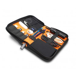 ultimate digi wallet small black orange inside