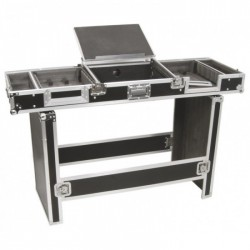 "Power Dynamics PD-FC3 Flightcase 19"" para mesa de mezclas y CDs."