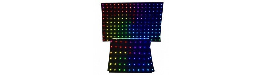 CORTINAS DE LED